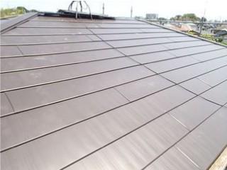 金属屋根横暖ルーフ施工後