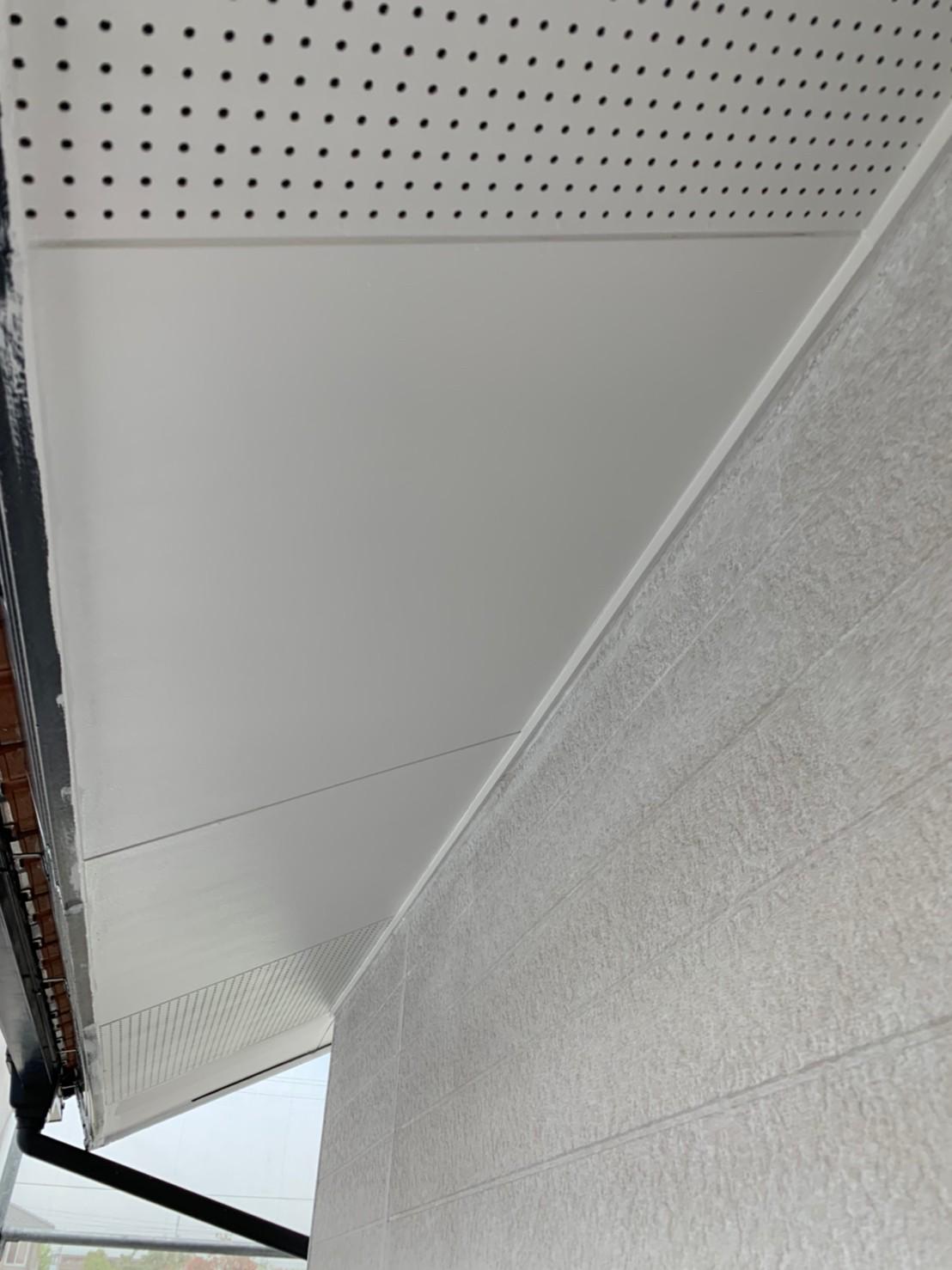 川越町、外壁塗装、下塗り