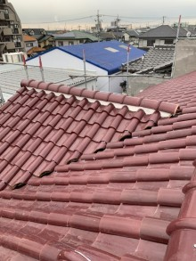 四日市市、屋根修理、谷樋板金
