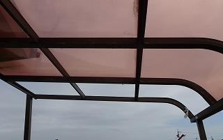 テラス屋根飛散 街の屋根やさん四日市店