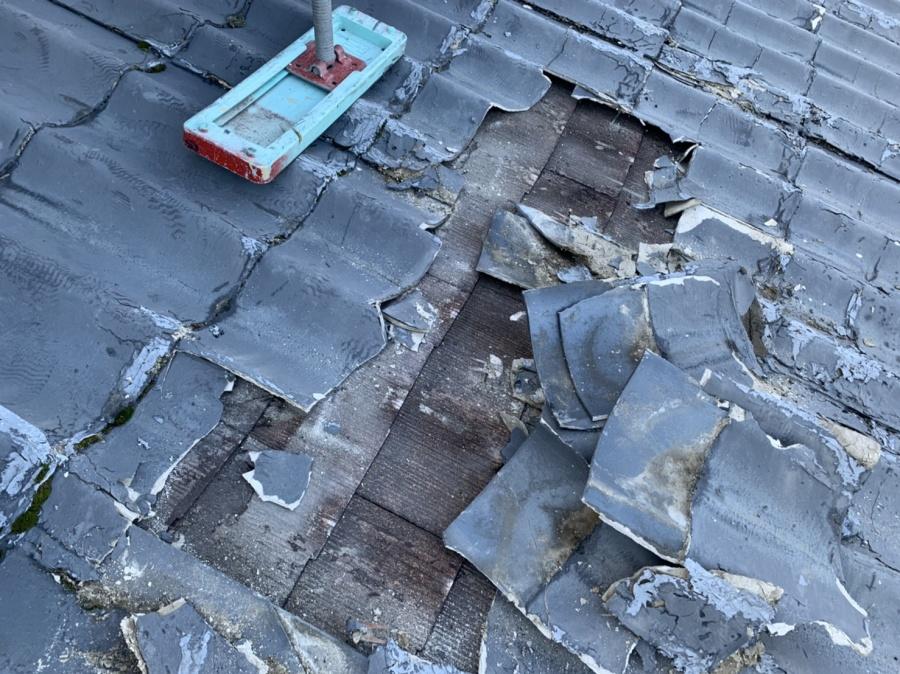 四日市、屋根葺き替え、カバー工法