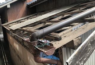 雨樋補修 街の屋根やさん四日市店