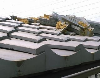 棟瓦崩れ 街の屋根やさん四日市店