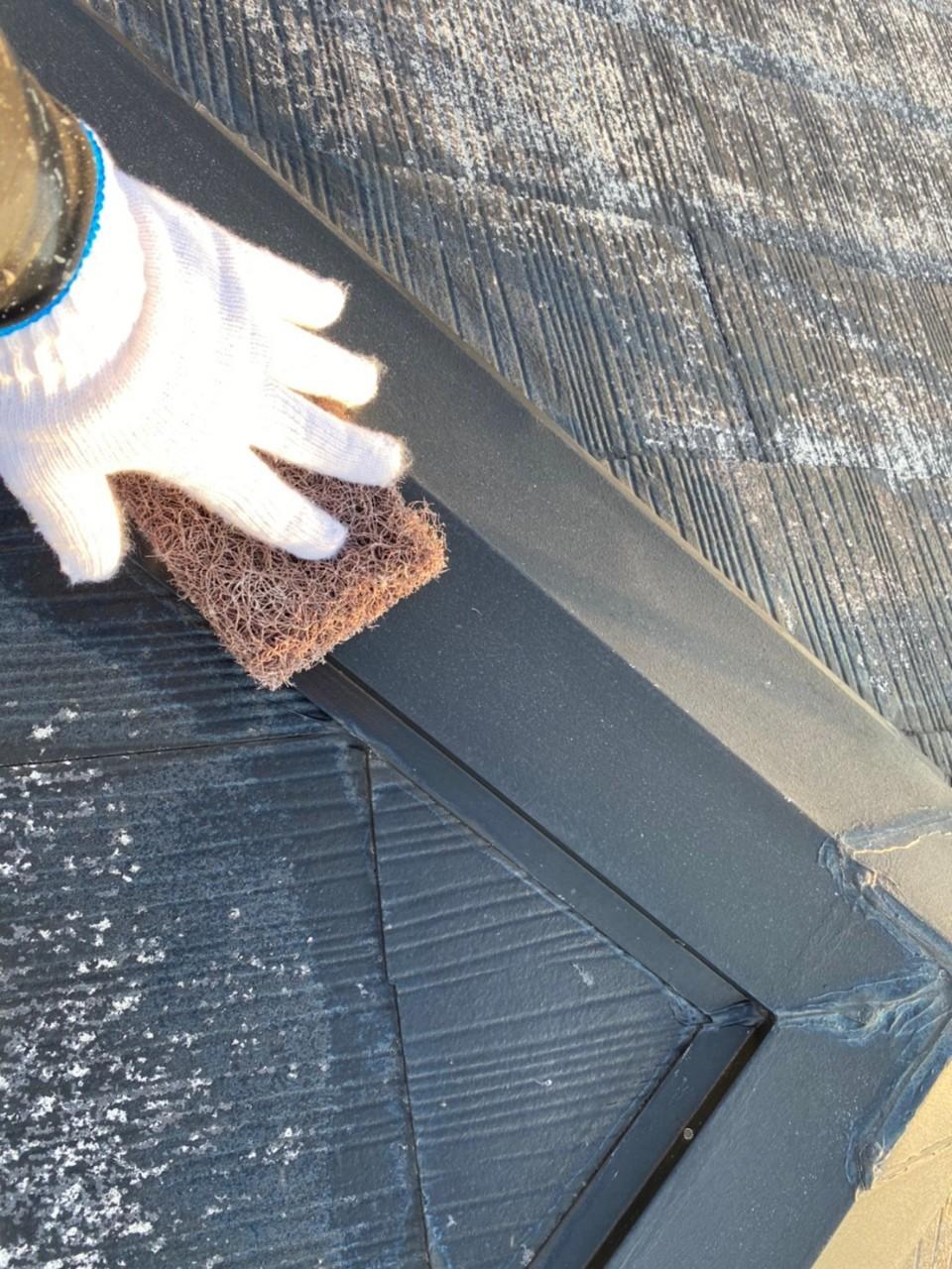 四日市市、屋根塗装