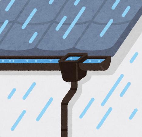 雨樋つまり 津市