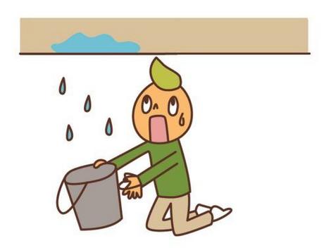 雨漏り 津市