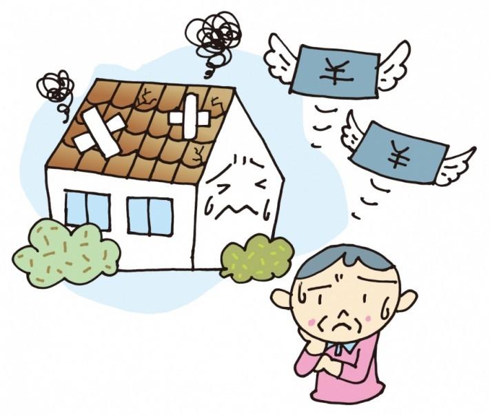 屋根外壁修理費