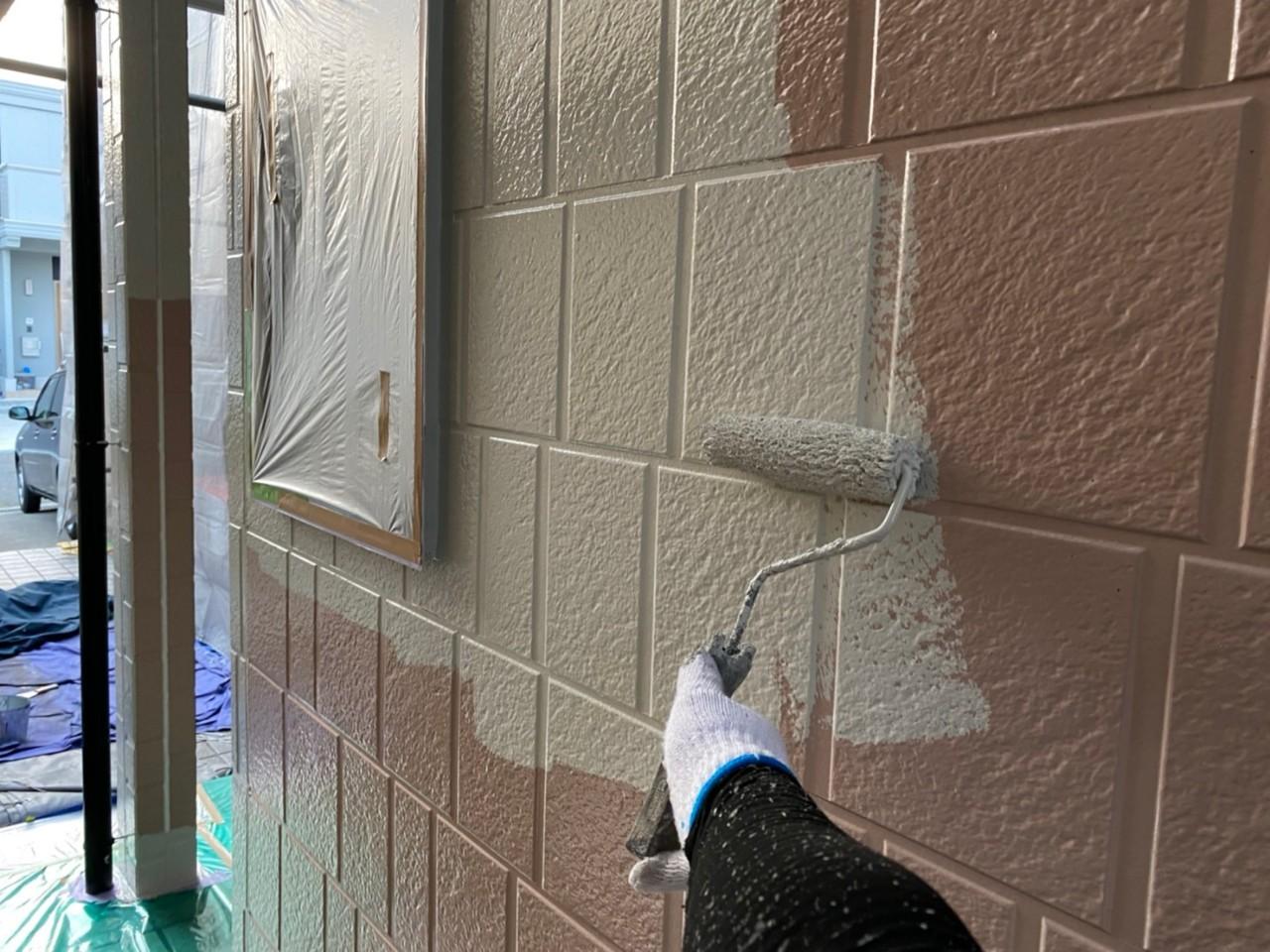 四日市市、外壁塗装