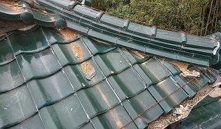 漆喰剥がれ 街の屋根やさん四日市店
