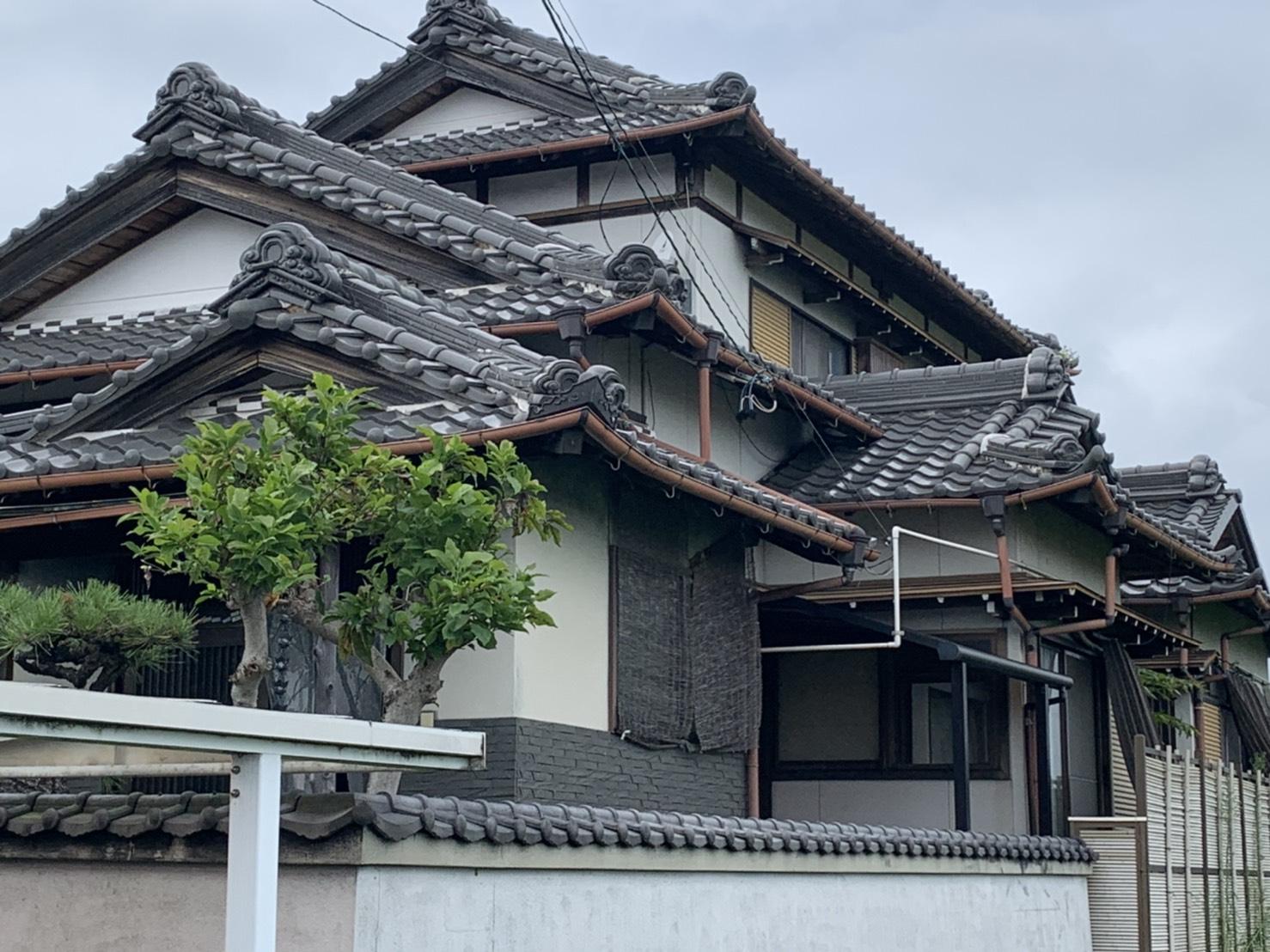 桑名市で屋根の無料点検。雨漏り調査