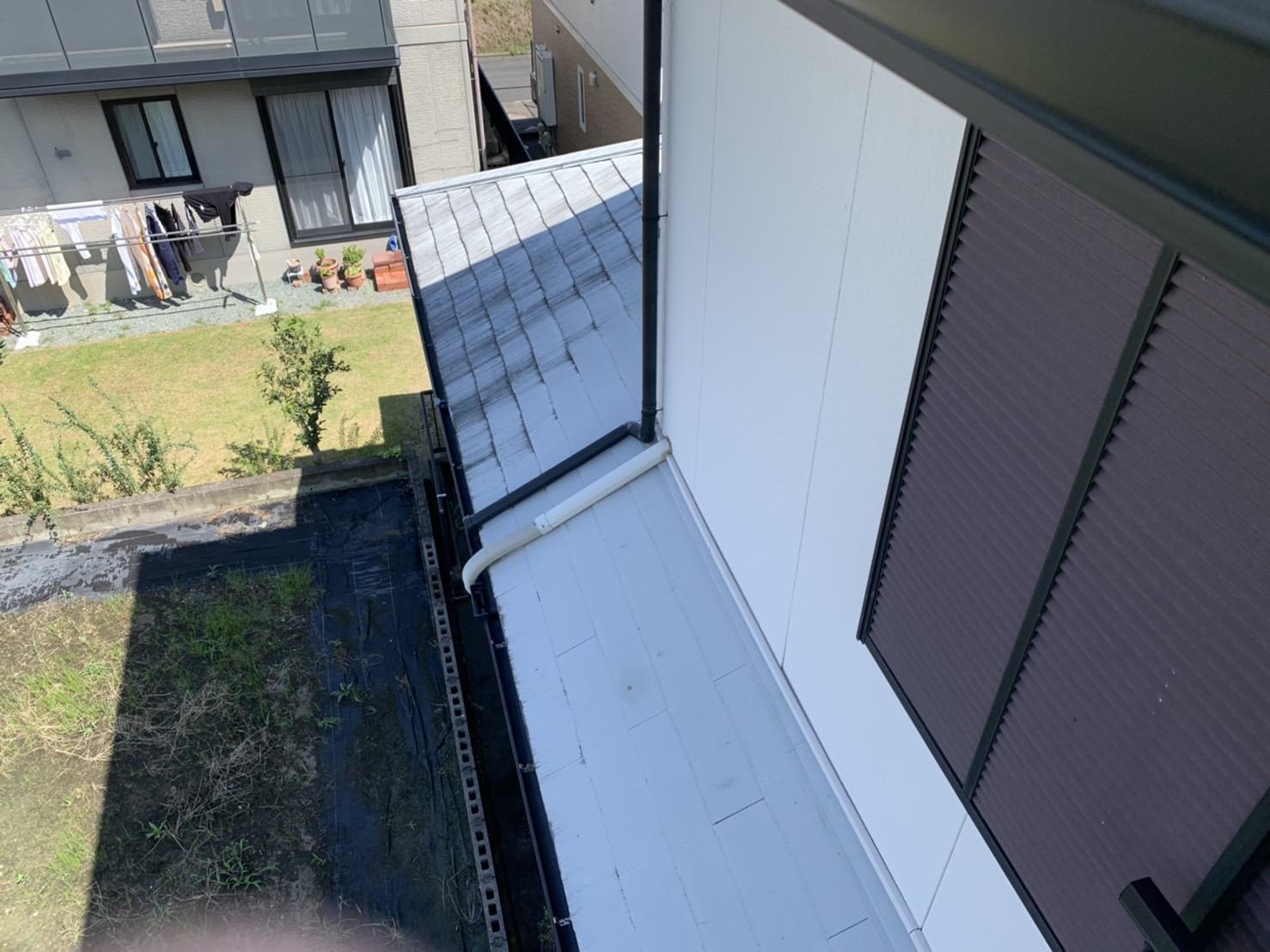 桑名市のカラーベスト屋根、カバー工法