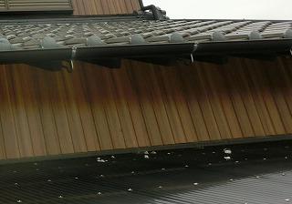 漆喰落下 街の屋根やさん四日市店