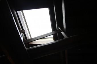問題を抱えた天窓