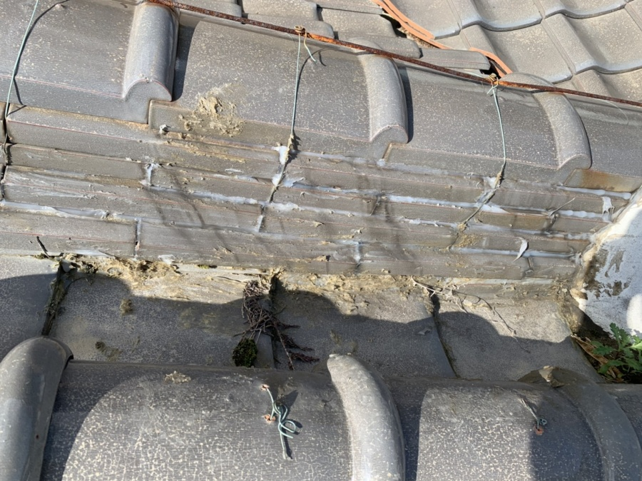 いなべ市、屋根工事、雨漏れ、漆喰