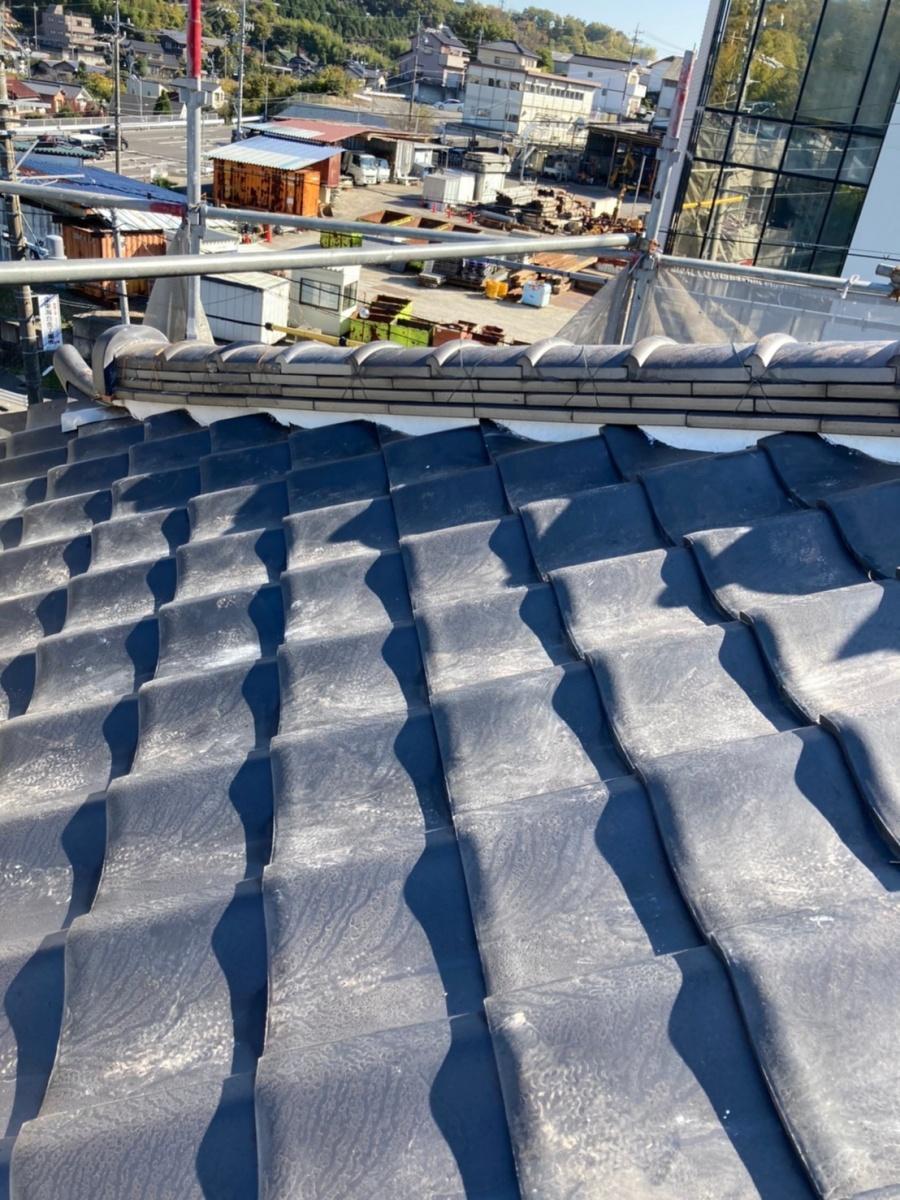 四日市、屋根修理、漆喰