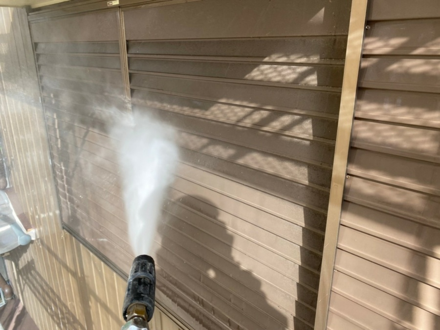 いなべ市、外壁塗装、高圧洗浄