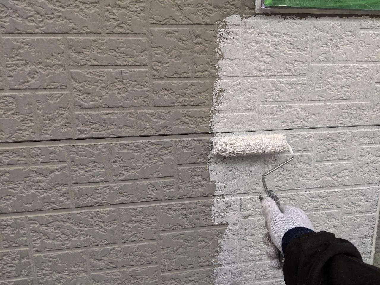 四日市市にて行った外壁塗装