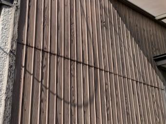 四日市市、外壁塗装、、トタン貼替