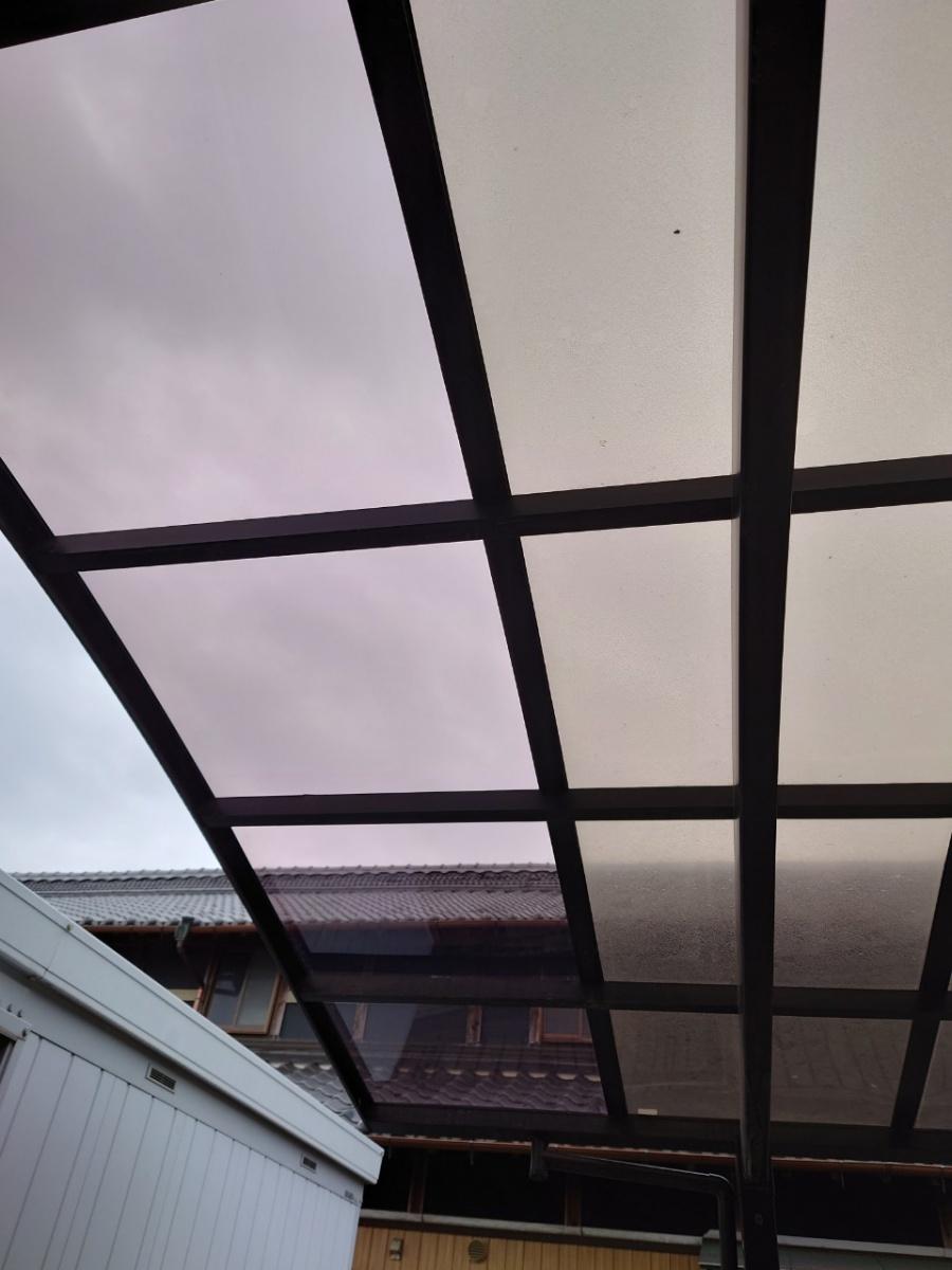 四日市市。屋根修理、カーポート