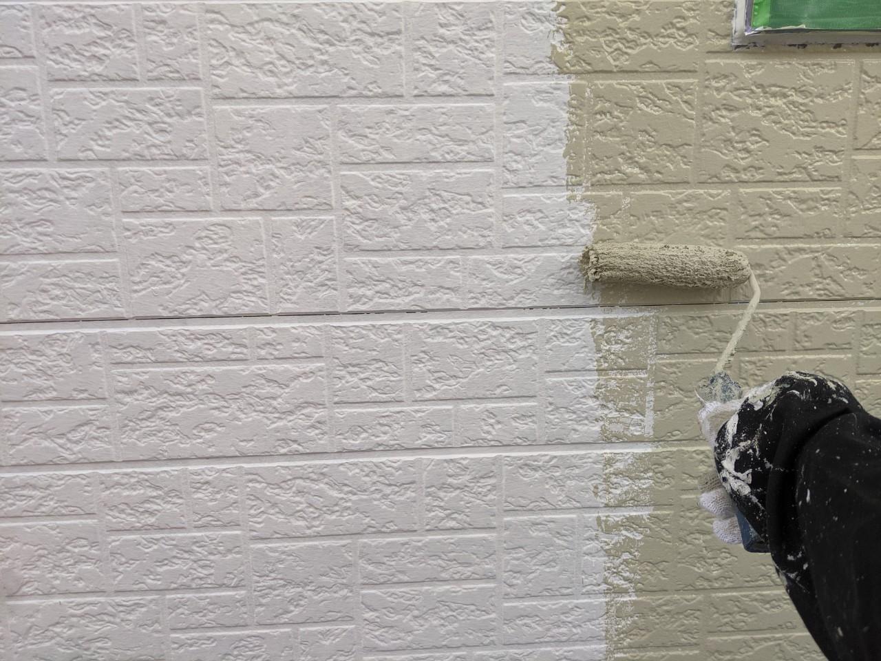 四日市市にて行った外壁塗装工事