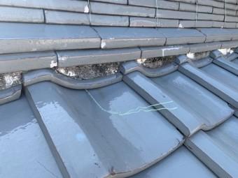 和瓦屋根漆喰補修