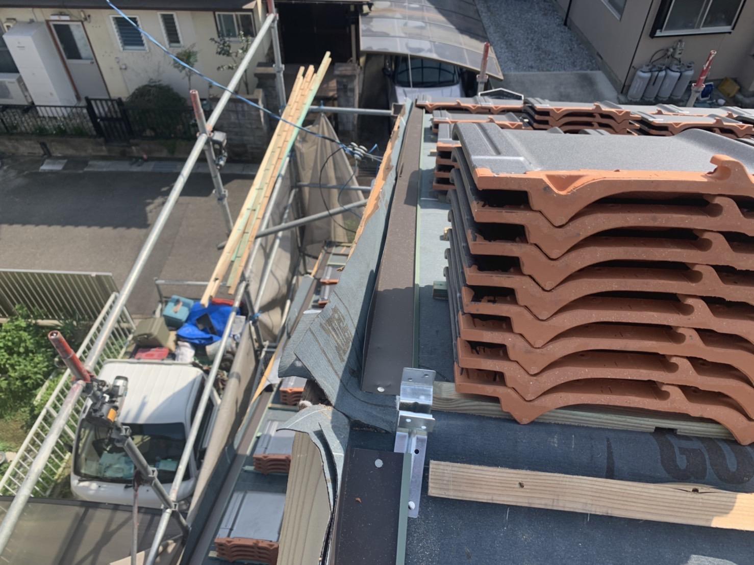 四日市市の屋根葺き替え