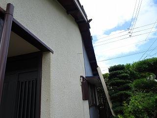 台風被害 破風板破損 街の屋根やさん四日市店 津市