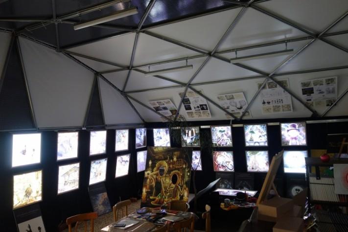キングコング 西野 煙突屋根