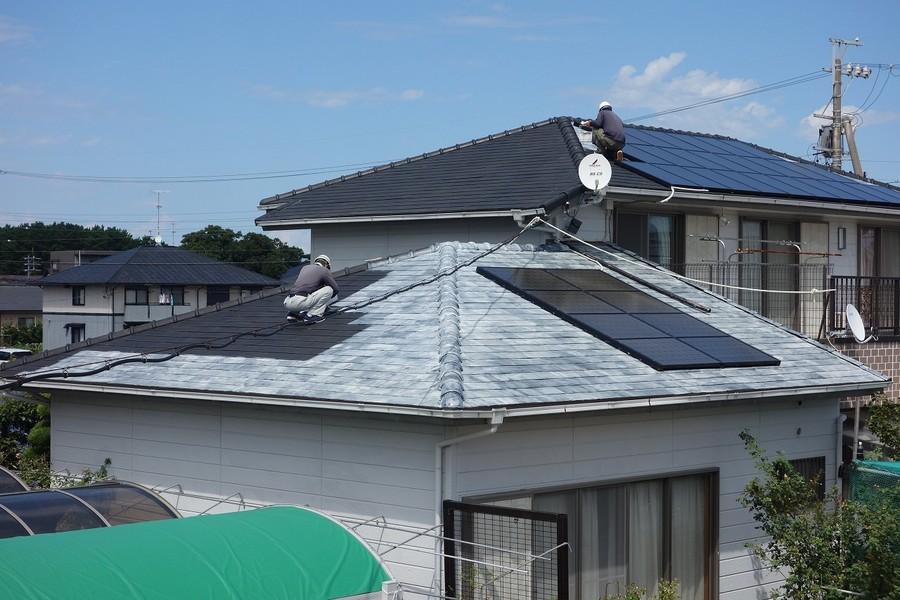 太陽光システム 全体風景