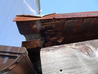 ケラバ損傷 街の屋根やさん四日市店 津市