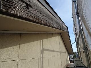 ケラバ 破風板 街の屋根やさん四日市店 津市