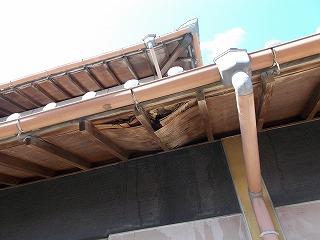 軒天破損 街の屋根やさん四日市店