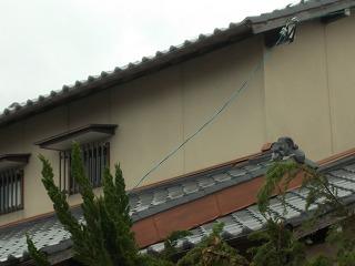 台風被害 瓦破損 町の屋根やさん四日市店