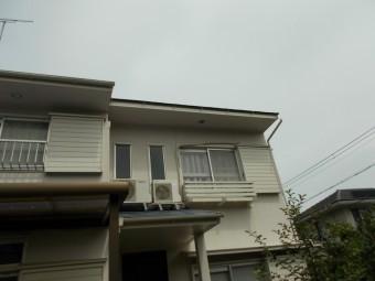 雨樋補修 台風被害 街の屋根や四日市