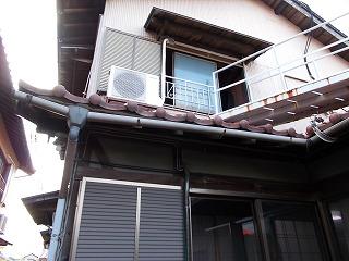 街の屋根やさん四日市店 軒樋