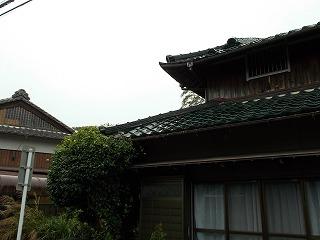 鬼瓦ズレ 漆喰剥がれ 街の屋根やさん四日市店