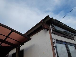板金破損 街の屋根やさん四日市店