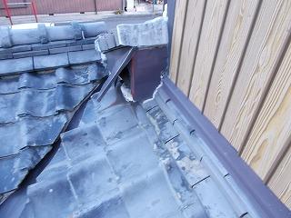 板金破損 松阪市 街の屋根やさん四日市店