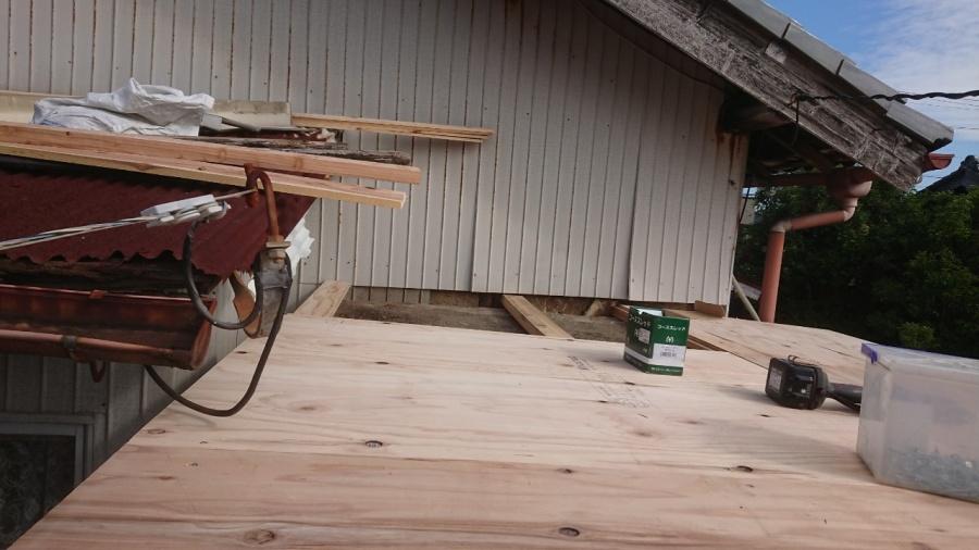四日市、雨漏れ、屋根工事