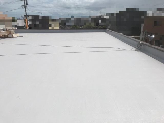 堀整形外科 平屋根 陸屋根 防水工事