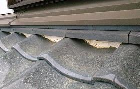 漆喰剥がれ 街の屋根やさん