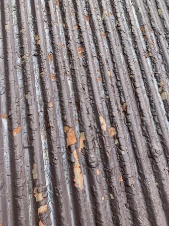 トタン屋根 錆