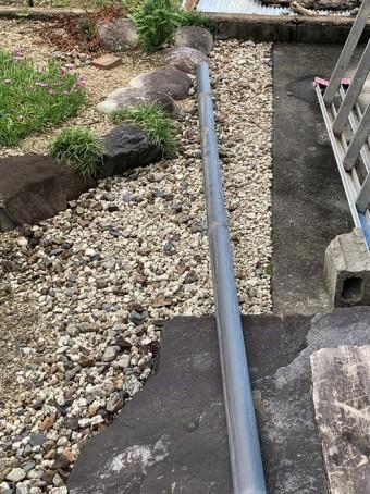 雨樋、竪樋、台風被害
