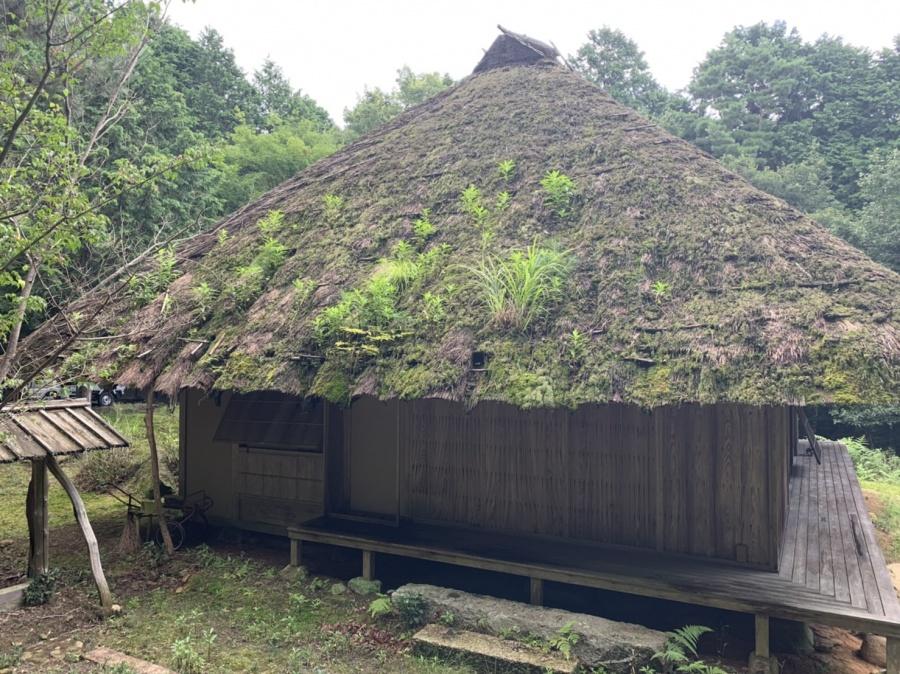 茅葺屋根、雨漏れ