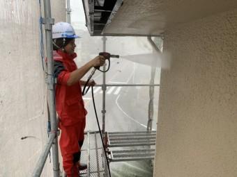 外壁高圧洗浄ショートガン