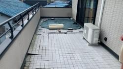 四日市、トヨタホームベランダ雨漏れ