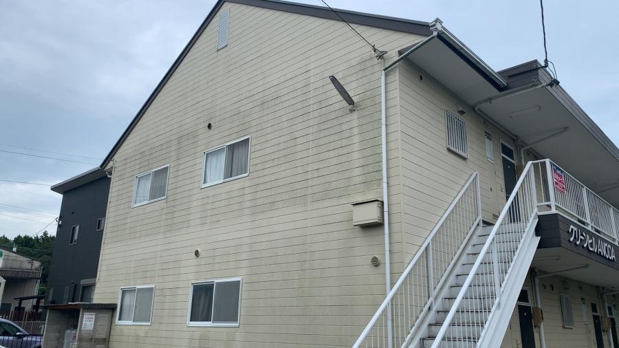 亀山市、アパート、外壁塗装、屋根塗装