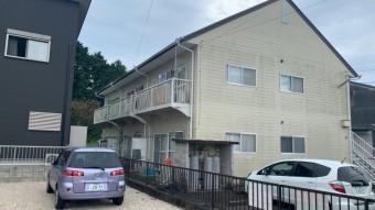 亀山、アパート、外壁塗装、屋根塗装