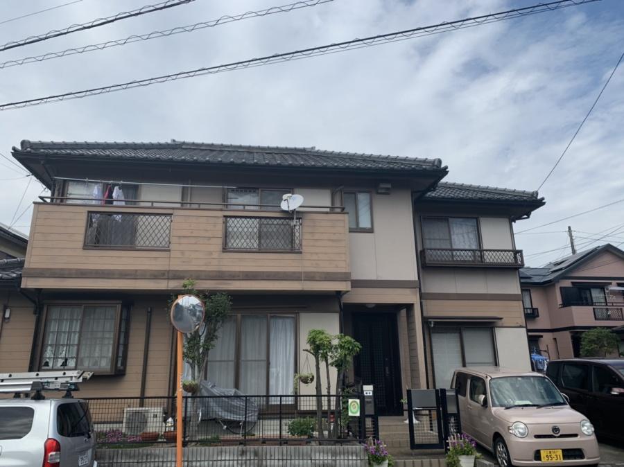 四日市市、台風10号による漆喰の剥がれ、火災保険適用
