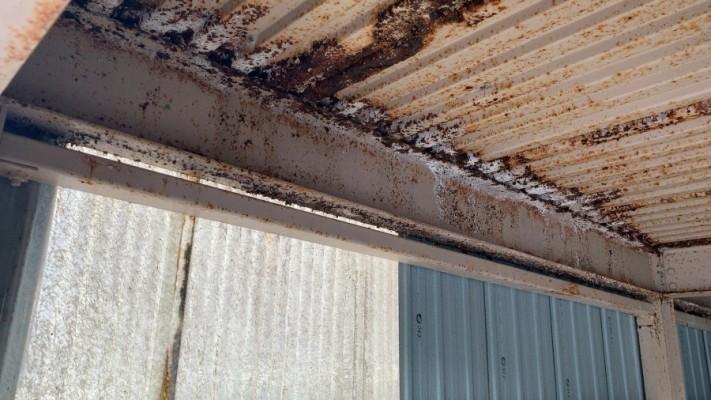 四日市、車庫塗装、雨漏れ